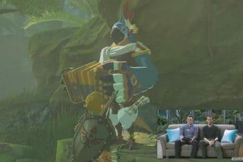 Zelda Breath of the Wild Game Awards 2016