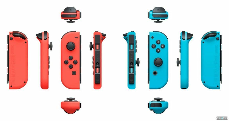 Joy-Con switch colors
