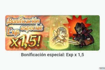 Fire Emblem Heroes evento 1.5 EXP