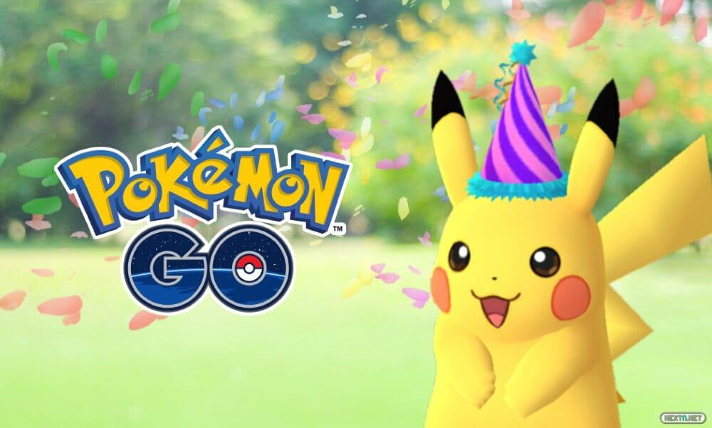 Pokémon GO Pikachu Festivo