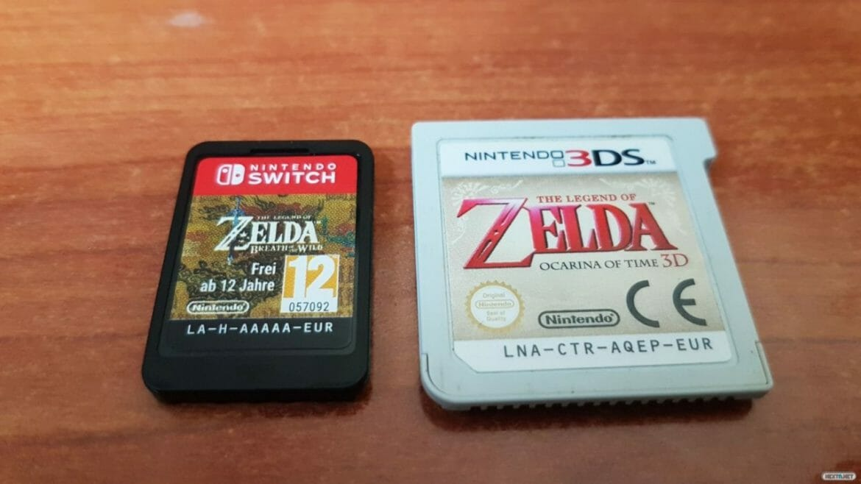 Nintendo Switch cartuchos