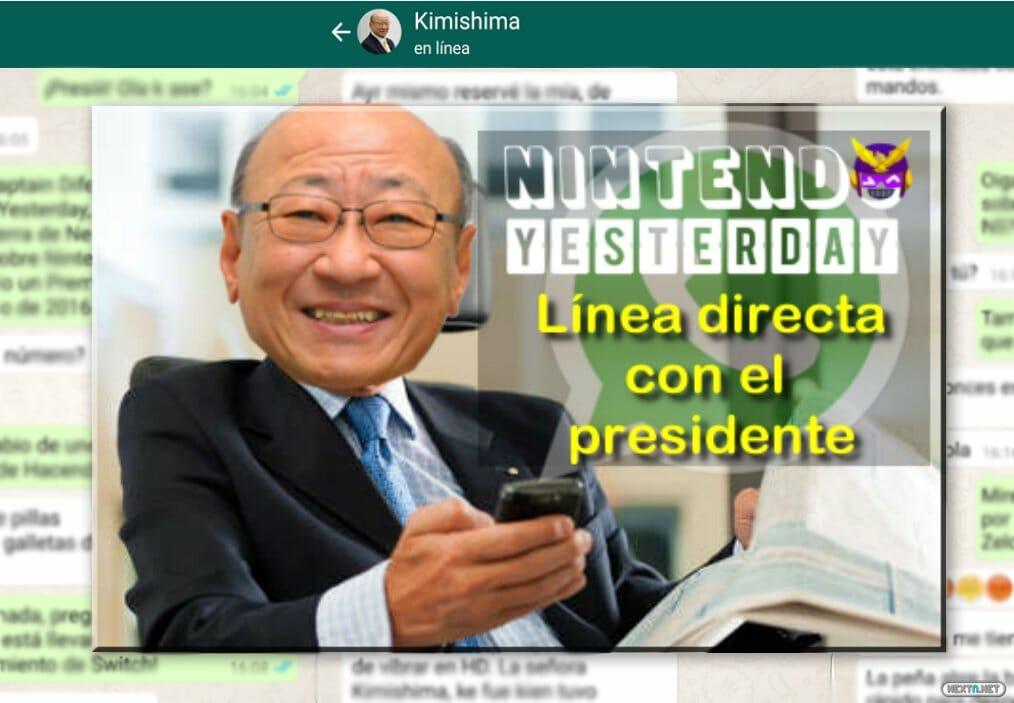 WhatsApp Kimishima