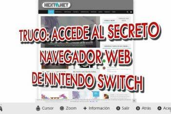 Truco Navegador Web Nintendo Switch