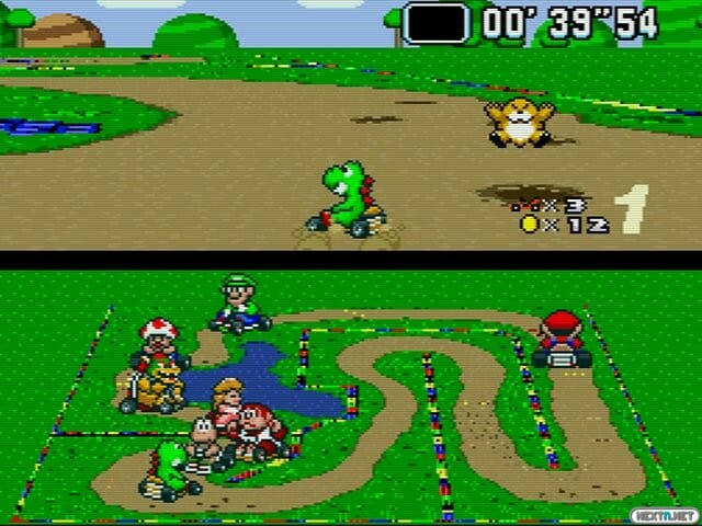 SNES Mini Super Mario Kart