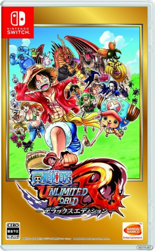 One Piece Unlimited World Red Deluxe Edition boxart Nintendo Switch