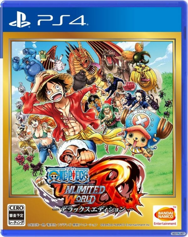 One Piece Unlimited World Red Deluxe Edition boxart PS4