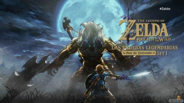 Zelda Breath of the Wild DLC Modo Experto