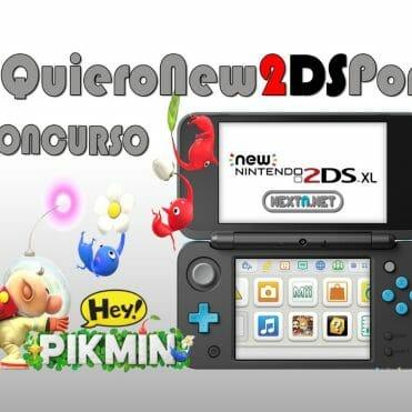Concurso New 2DS XL Hey Pikmin #QuieroNew2DSPor