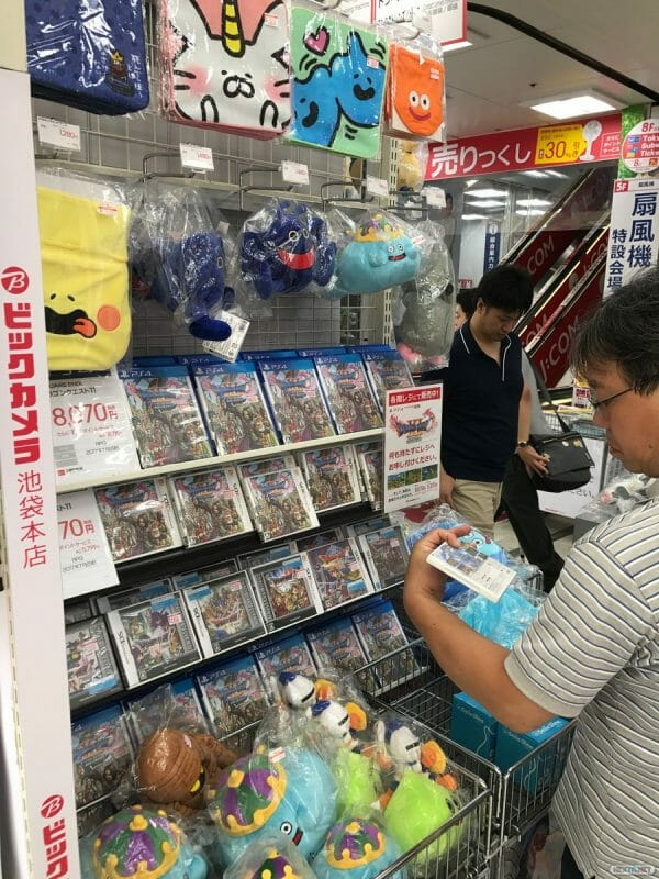 Colas lanzamiento Dragon Quest XI