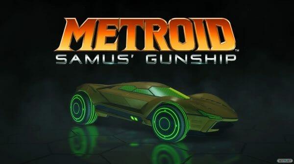 Rocket League coche Mario Metroid Samus' Gunship
