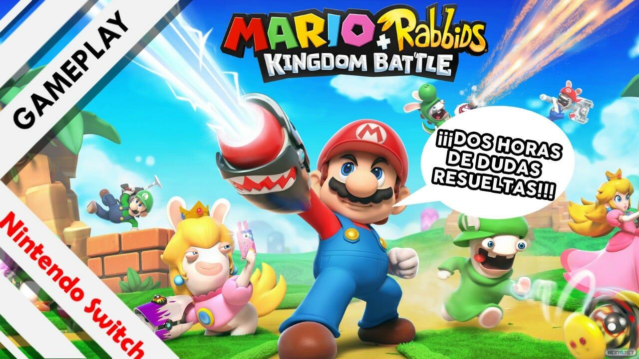 Gameplay dos horas Mario + Rabbids Kingdom Battle