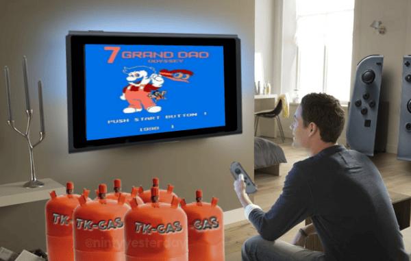 Nintendo Switch TK-GAS