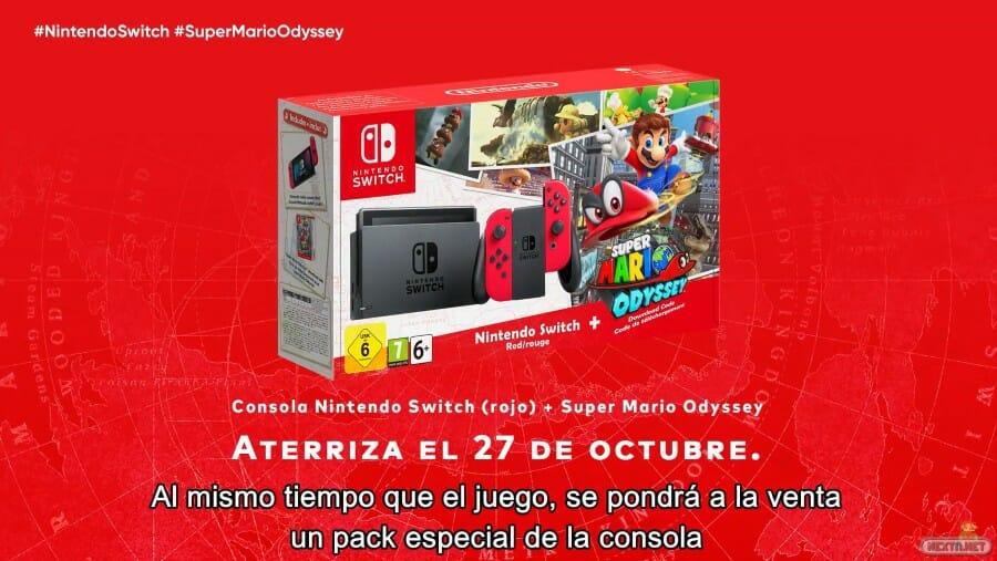 Super Mario Odyssey Pack Switch