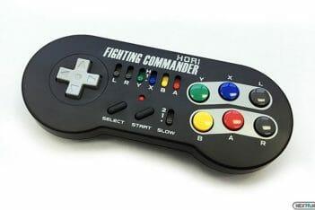 Pad Fighting Commander SNES Mini