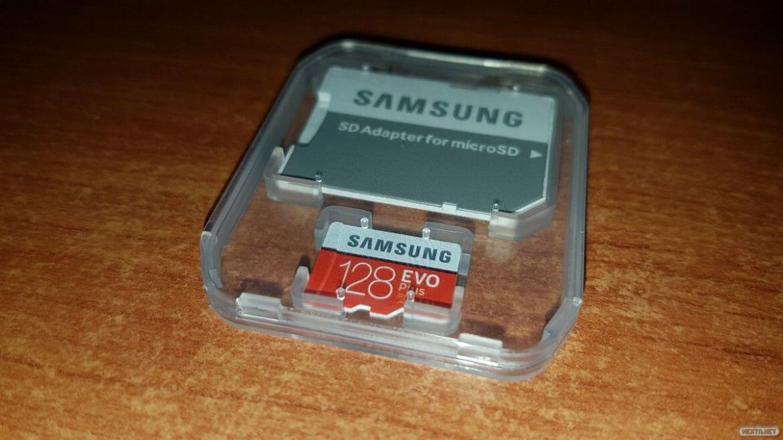 Nintendo Switch MicroSDXC SAMSUNG EVO Plus 128 GB