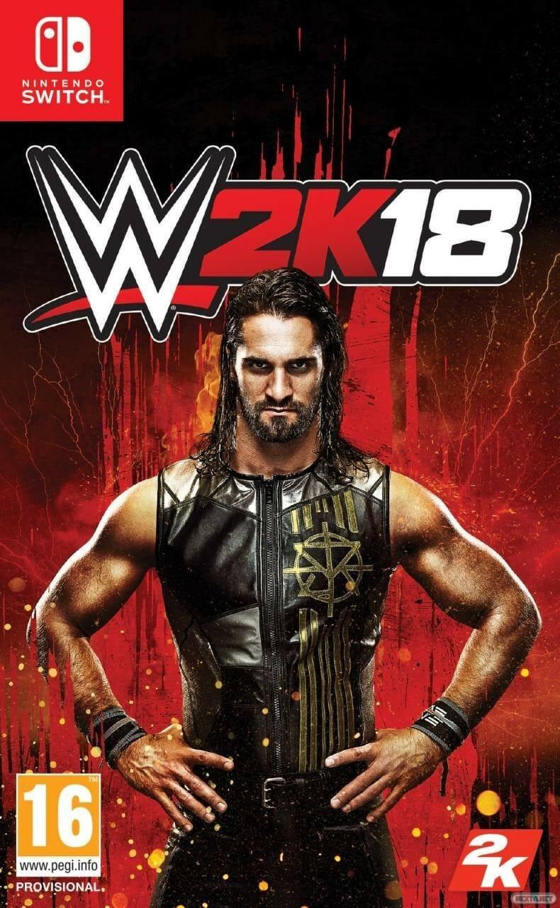 WWE 2K18 Switch boxart