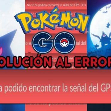Pokémon GO solucion error GPS