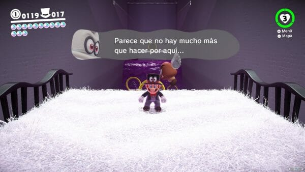 Análisis Super Mario Odyssey