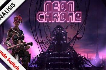 Neon Chrome Switch