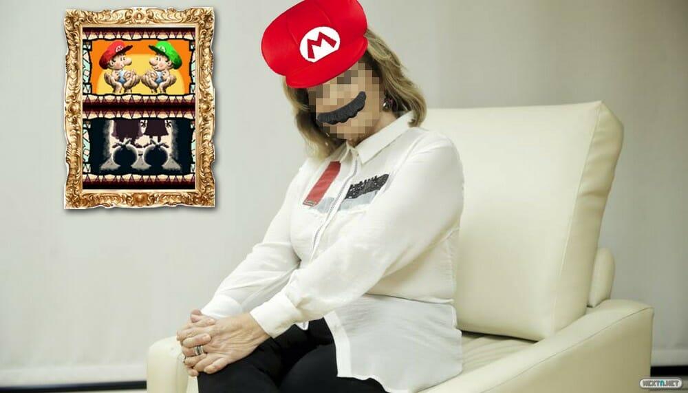 Entrevista Madre Super Mario Odyssey
