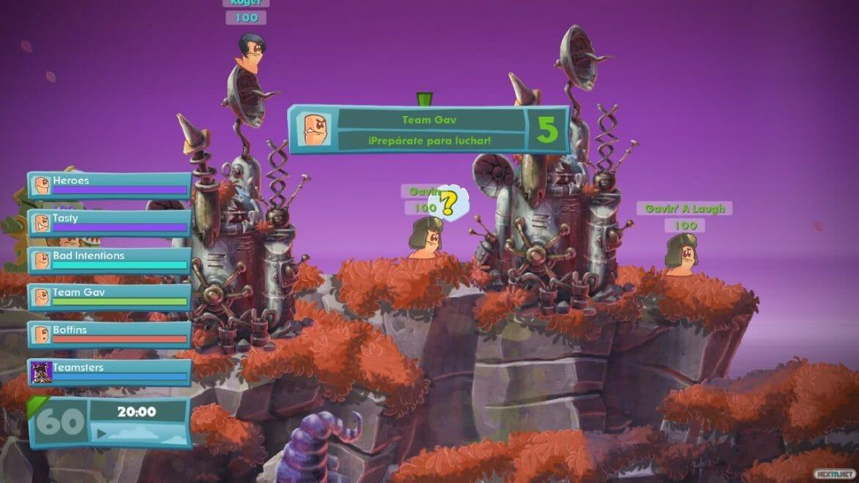 Análisis Worms W.M.D - Nintendo Switch