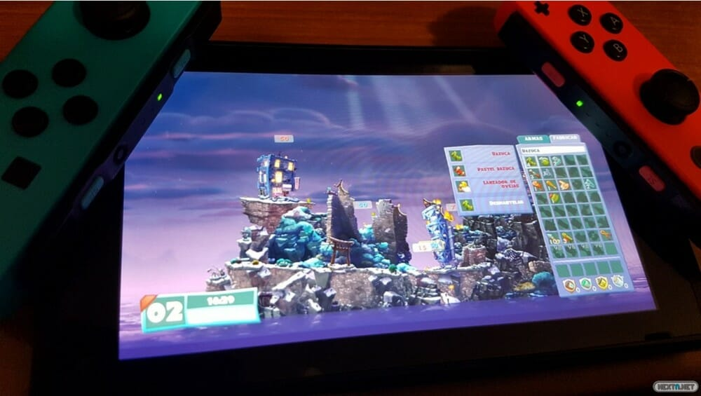 Análisis Worms W.M.D - Nintendo Switch portátil