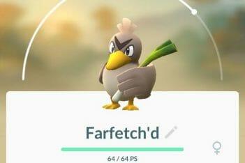 Pokémon GO Farfetch'd