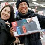 DavidFM Japón Nintendo Switch ventas