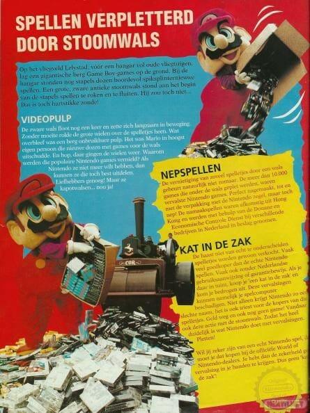 Nintendo Piratería 1994