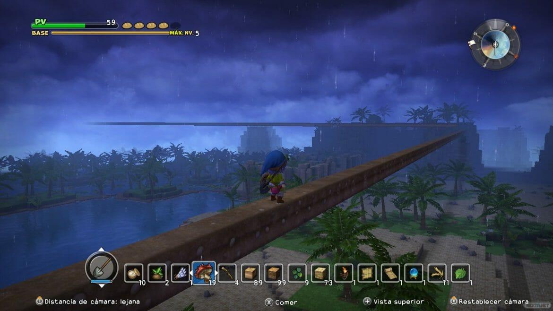 Análisis Dragon Quest Builders 20