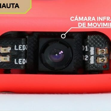 Nintendo Labo cámara Infrarroja antenauta