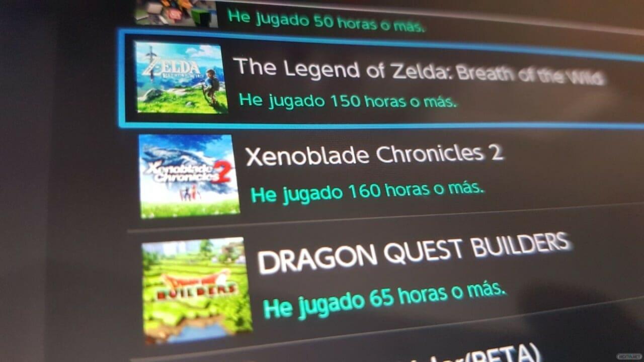 Nintendo Switch bug horas juego