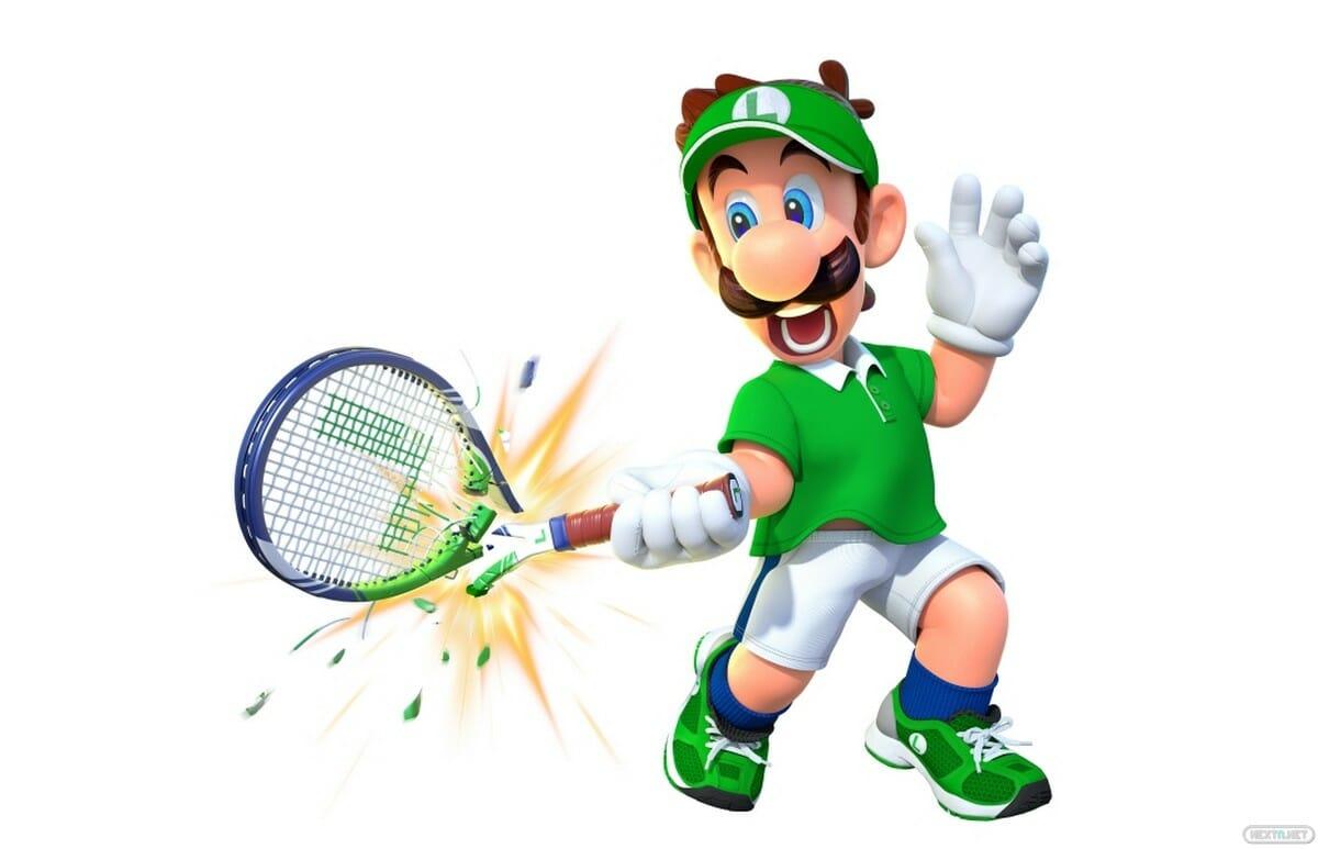 Mario Tennis Aces Luigi