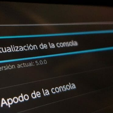 Actualización Nintendo Switch 5.0.0