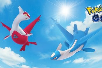 Pokemon GO Latios Latias