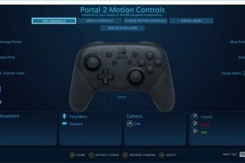 STEAM Mando Pro NIntendo Switch