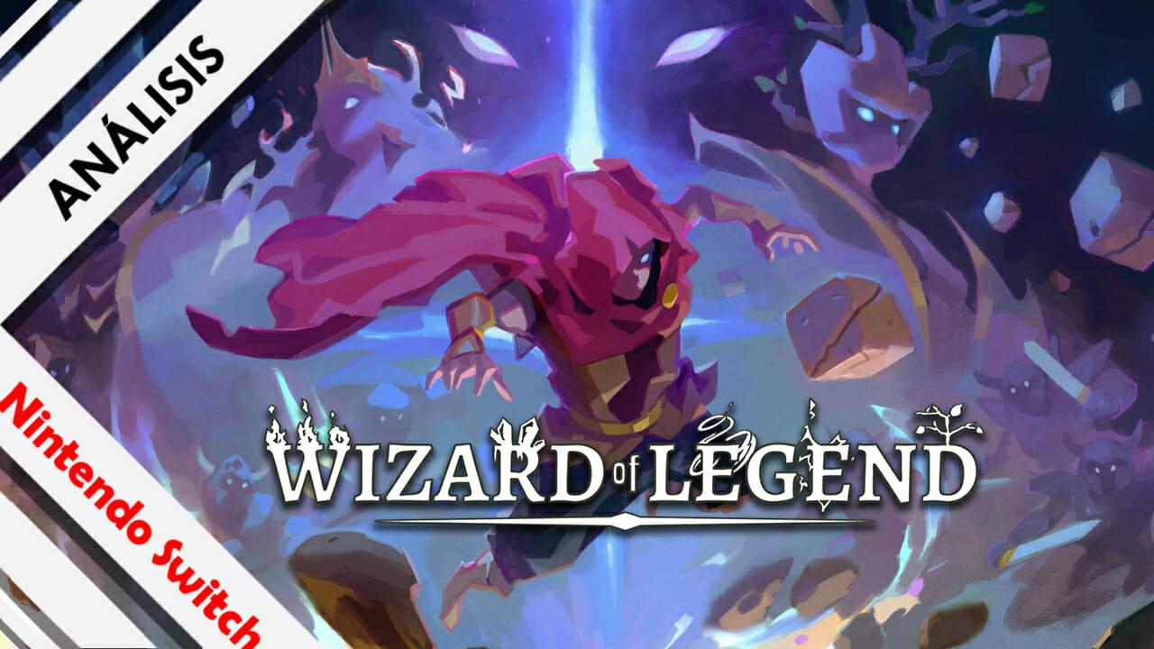 Wizard of Legend Analisis Cabecera