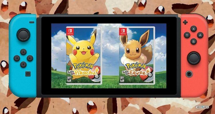 Pokémon Let's Go, Pikachu! Pokémon Let's Go, Eevee! Kanto Fecha de Salida Nintendo Switch