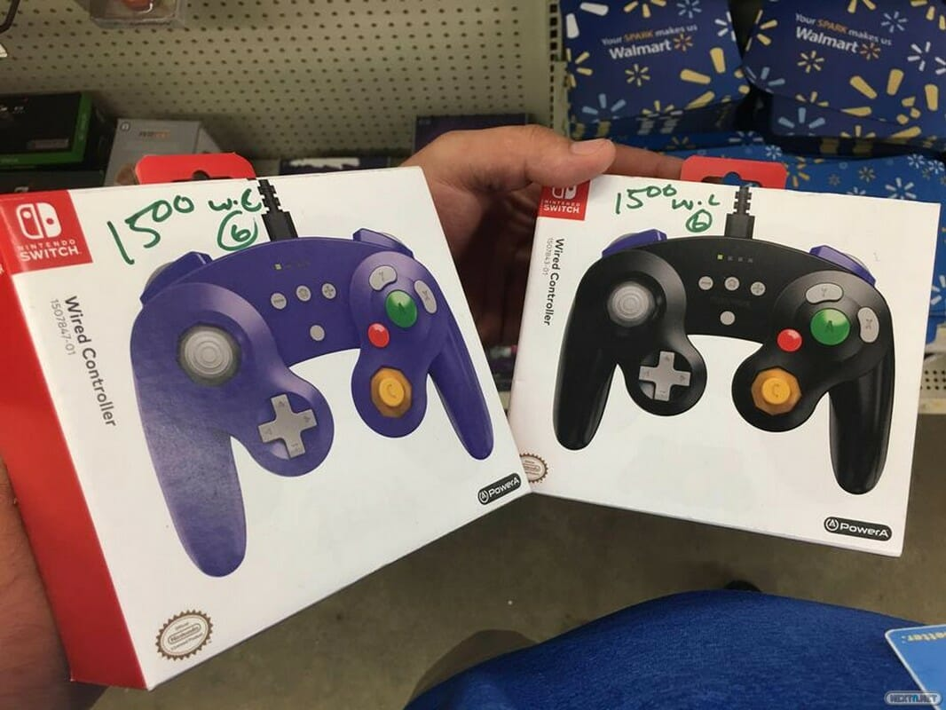 Mandos PowerA Nintendo GameCube Switch