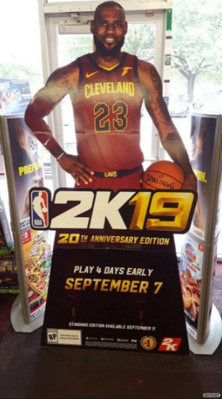 NBA 2K19 Nintendo Switch