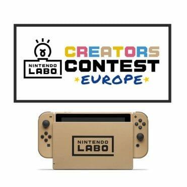 Nintendo Labo Creators Contest Switch cartón
