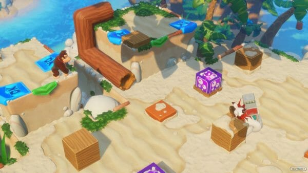 Mario Rabbids Donkey Kong Adventure Análisis 06