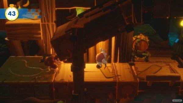 Mario Rabbids Donkey Kong Adventure Análisis 09