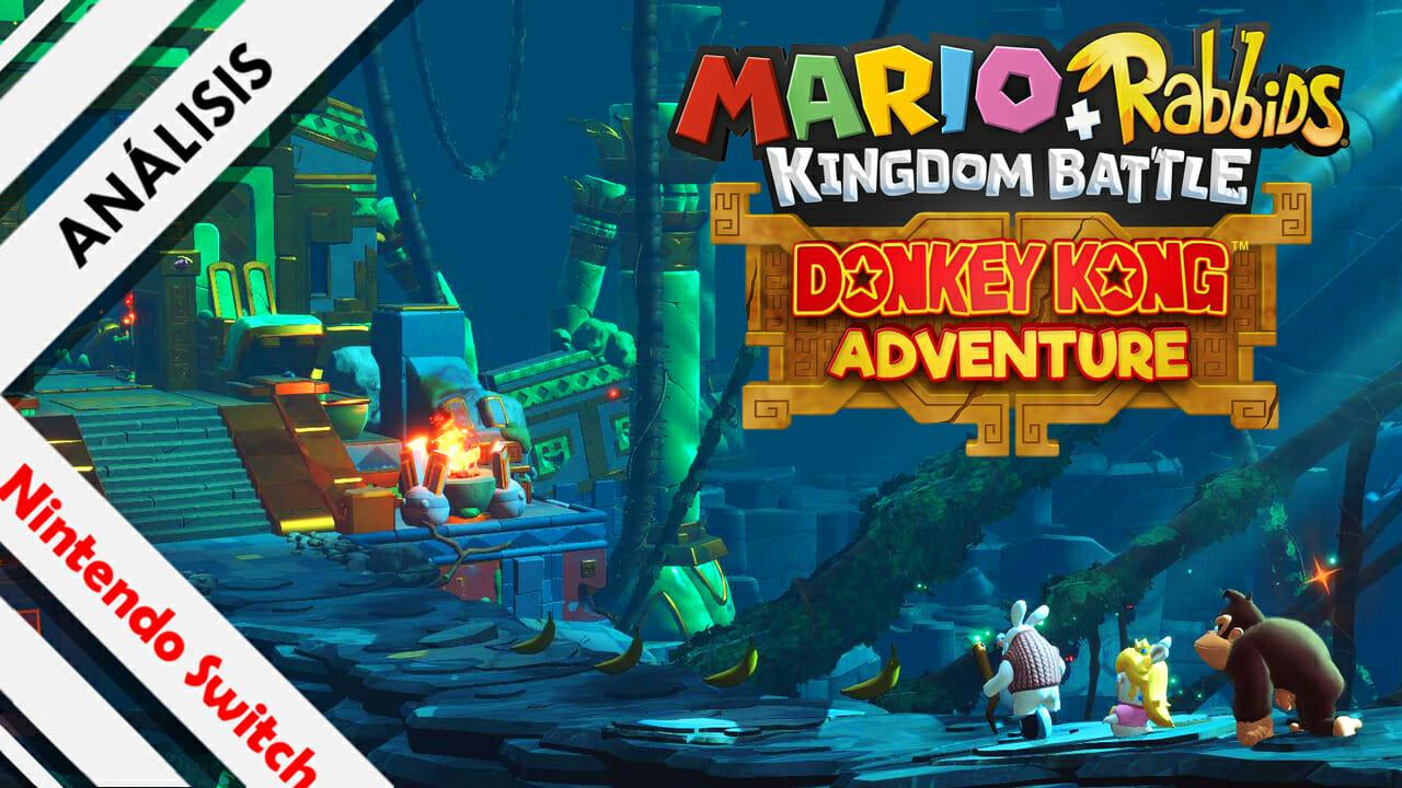 Mario+Rabbids Donkey Kong Adventure Encabezado