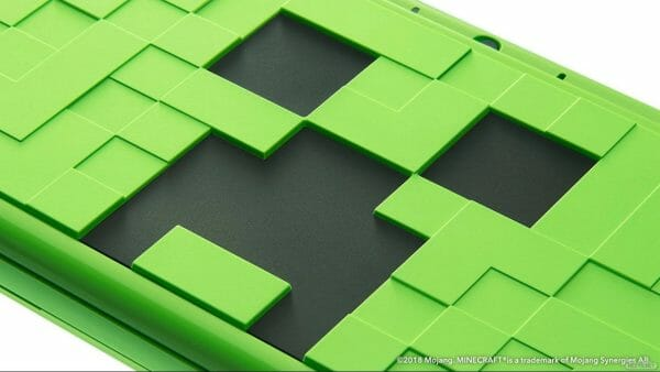 New 2DS XL Minecraft Creeper Edition