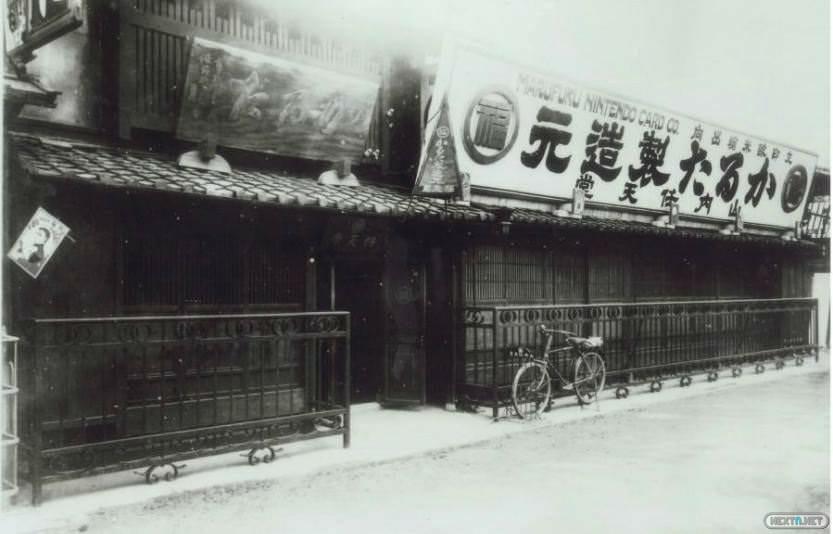 Edificio madera Nintendo 1889