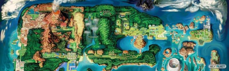 Pokémon GO Mapa Hoenn