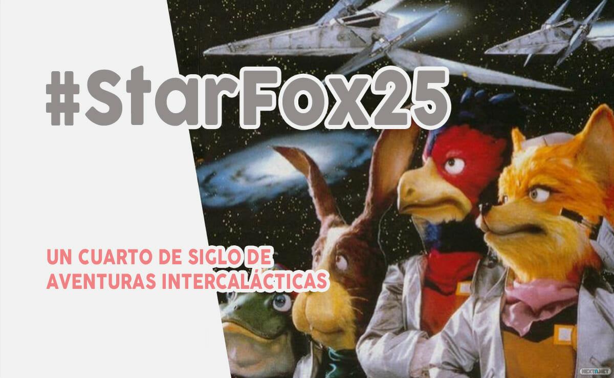 Star Fox 25 años aniversario