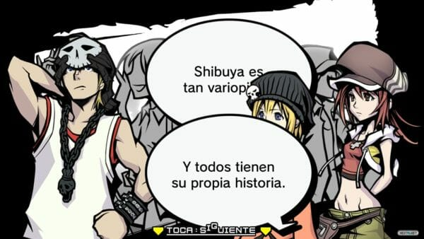 The World Ends With You Dialogo 01