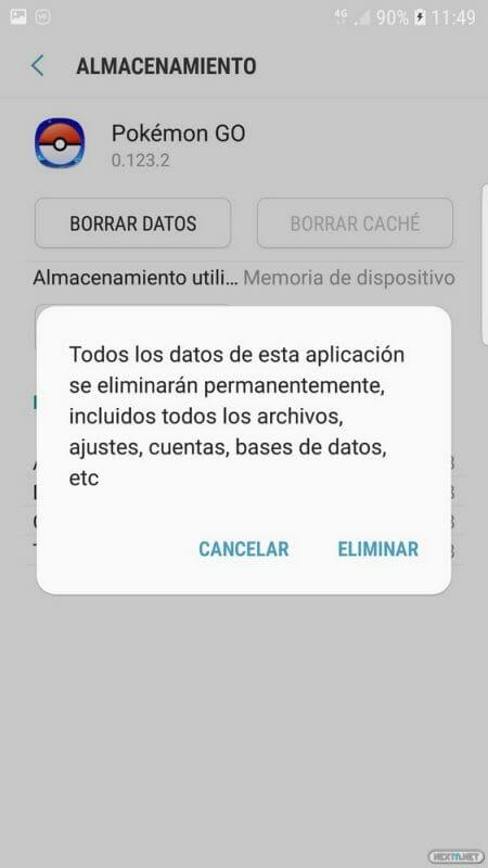 Pokémon GO activar RA+ AR+ Android 09